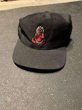 Vintage Lollapalooza Music Festival Snapback Hat Cap Budda
