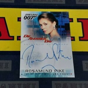 James Bond: Die Another Day A5 Rosamund Pike as Miranda Frost Autograph!
