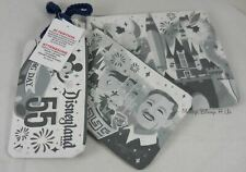 Disneyland Opening Day 3 Pack Cosmetic Make-Up Vanity Travel Tote Bag Pouches