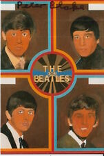 PETER BLAKE HAND SIGNED 6X4 PHOTO ART MEMORABILIA THE BEATLES 1.