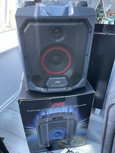 JVC MX-D719PB Portable Bluetooth Speaker