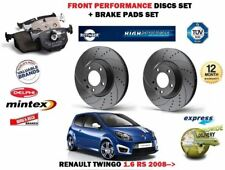 pour Renault Twingo 1.6 RS 2008- > avant Performance Kit Disque frein +