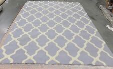 Silver / Ivory 9' x 12' Loose Edge rug reduced price 1172550257 CAM121D-9