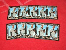 KENDRY FLORES GIANTS 2013 BOWMAN DRAFT SCOUT BREAKOUTS #KF LOT OF 10 (18-28)