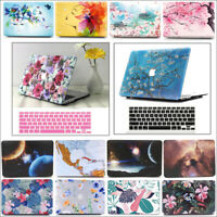 """2in1 Matte Frosted Hard Case Shell+Keyboard Cover for Macbook AIR Pro 11"""" 13""""15"""""""