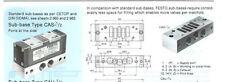 Festo 5801 Cas-1/2, Sub Base for cassette valve