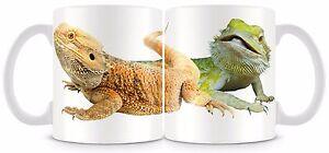 Beadred Dragon Mug  Lizard Reptiles Beardie v2