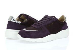 Axel Arigato Geo Purple Sneakers Suede Fashion Sneakers sz. 10 ( 43 )