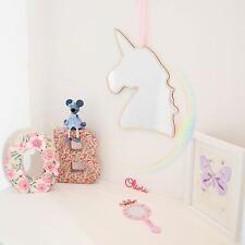 IceCreamLiving Acrylic Wood Modern Mirror Wall Sticker Children Kids - Unicorn