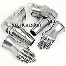 Medieval Gauntlets & Greaves Curiass Armour