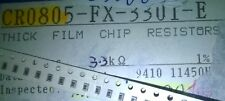 Carrete parcial 3500 un.+ Bourns CR0805FX3301E 3.3K 1% fijo resistencias de película gruesa