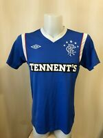 Glasgow Rangers 2011/2012 Home Size S umbro football shirt jersey soccer maillot