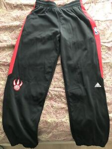 Official Adidas NBA Toronto Raptors Game Warmup Pants Size XL2