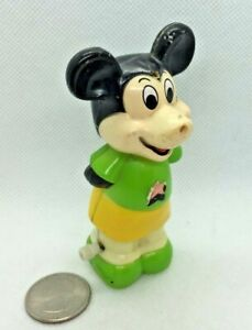 Walt Disney Productions Durham Industries Wind-Up Mickey Mouse Toy #5738 Hong Ko