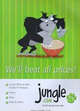"Jungle.Com ""We'll Beat All Prices"" 1999 Magazine Advert #213"