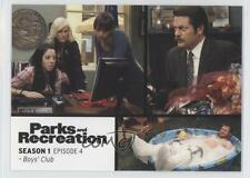 2013 Press Pass Parks and Recreation Seasons 1-4 #4 Boy's Club Card 2a1
