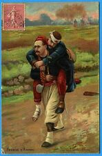 CPA: Frères d'Armes - D'après P. GROLLERON / 1907