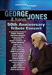 George Jones & Friends: 50th Anniversary Tribute Concert, Good DVD, ,