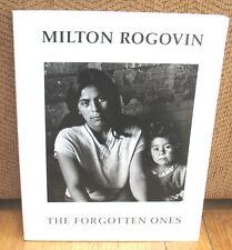 SIGNED Milton Rogovin Forgotten Ones Buffalo Church Storefronts 1st PB 1985