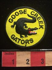 Vintage Goose Creek Gators Patch SOUTH CAROLINA Alligator C634