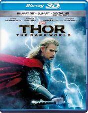Thor: The Dark World (Blu-ray Disc, 2014; 3D) *Please Read*
