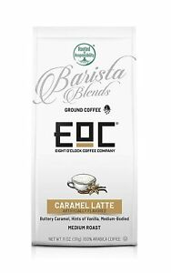 Eight O'Clock Coffee Barista Blends Ground Coffee, Medium, 11Oz, Various Flavors