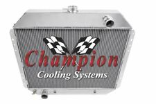 1977-1979 Ford F Series Truck All Aluminum Champion Cooling 3 Core Radiator