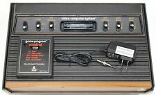 """Atari 2600 Console """"Light-Sixer"""" Recapped Reconditioned A/V modded Fully Tested"""