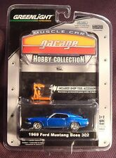 Greenlight 1:64 Muscle Car Garage 1969 Ford Mustang Boss 302 Series 5 w/ShopTool