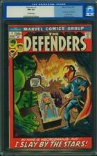 Defenders #1 CGC 9.4 1972 Hulk! Doctor Strange! Fr Marvel Feature H5 66 cm clean