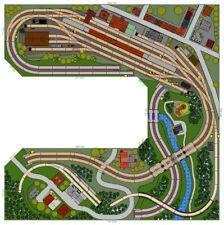 GP3-0100 Märklin C-Gleis-Plan Trossingen 300x300x300cm (DIN A4-Mappe Color)