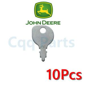 10pcs 430 FITS John Deere Honda Indak Kubota Murray MTD Polaris Scag Sears KEY