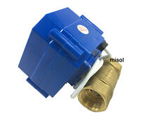 110V Motorischen Kugelhahn,DN20 (NPT), brass,2 way, electrical valve