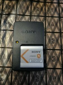Genuine SONY NP-BN Camera battery + BC-CSN charger *N Type* 600mAh - Cyber-shot