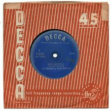 "TOMMY STEELE - BOYS AND GIRLS 7"" 45 VINYL Rare 1960 UK Decca Demo Promo Single"