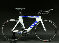 2016 Cervelo P2 54cm Triathlon TT Carbon Bike Shimano 105 White Demo Model