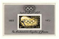 s11579) YEMEN MNH** 1960, Olympic Games Rome s/s