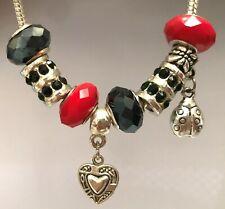 Set of 8 Beads Dangle Charm For European Bracelet Necklace Free Gift Bag #03