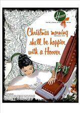 Hoover Christmas Vintage Advertising Sign Reproduction Metal Sign Secret Santa