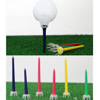 10pcs Golf Tee Plastic Crown Claw Tees 2 3/4'' Ball Holder Club Accessories