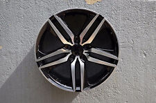 HONDA ACCORD SEDAN V6 fits 20 inch Black Machined Rims Set of 4 Wheels