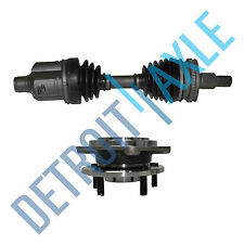 Front Driver CV Axle Shaft w/ ABS + Wheel Hub and Bearing Assembly for Lumina