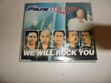 CD  Five +  Queen  ‎– We Will Rock You