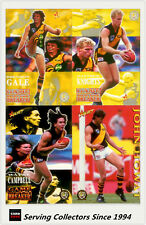 1995 Select AFL Trading Card Series 2 Base Card Team Set Richmond (11)