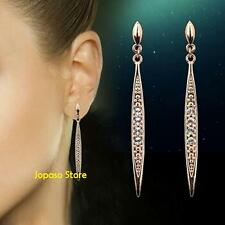 18k Rose Gold Plated Crystal Swarovski Elements Earrings for Party Wedding
