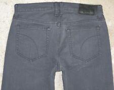 J0E's Classico da Uomo Jeans Taglio Dritto 31 x 33 Grigio Sdrucito W Stretch