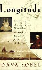 Longitude by Dava Sobel Hardcover book FREE SHIPPING John Harrison story history