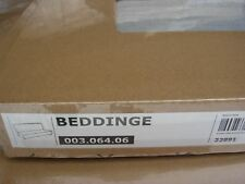 > New Original IKEA cover for Beddinge 3 seat sofa bed in Knisa Light Grey