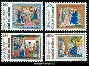 Vatican City Scott 1004-1007 350L Marco Polo Delivering Pope Gregory X's Letter