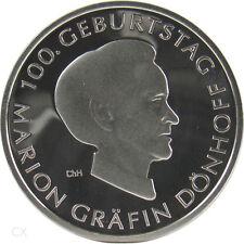 *** 10 Euro DEUTSCHLAND 2009 Marion Gräfin Dönhoff J Silber Spiegelglanz PP ***